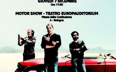 The Grand Tour in anteprima al Motor Show di Bologna