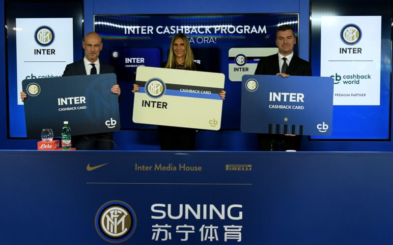 Inter e Cashback World by Lyoness firmano partnership