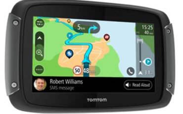 TomTom lancia Rider 550 per i centauri