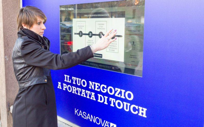 Kasanova+ lancia lo shop touch