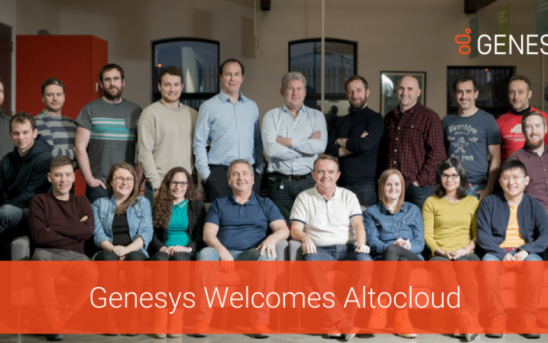 Genesys Acquisisce Altocloud