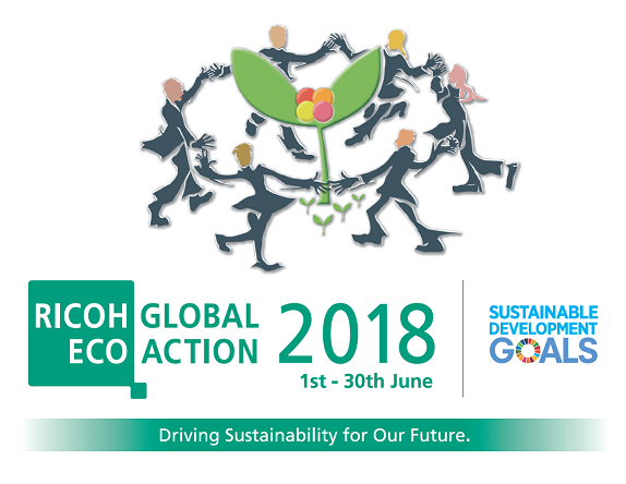 Giugno per Ricoh è Global Eco Action Month