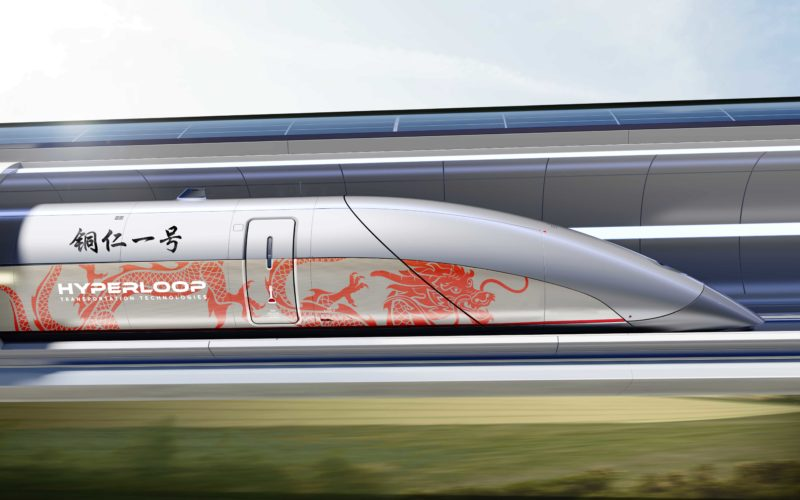 La Cina si affida a Hyperloop Transportation Technologies