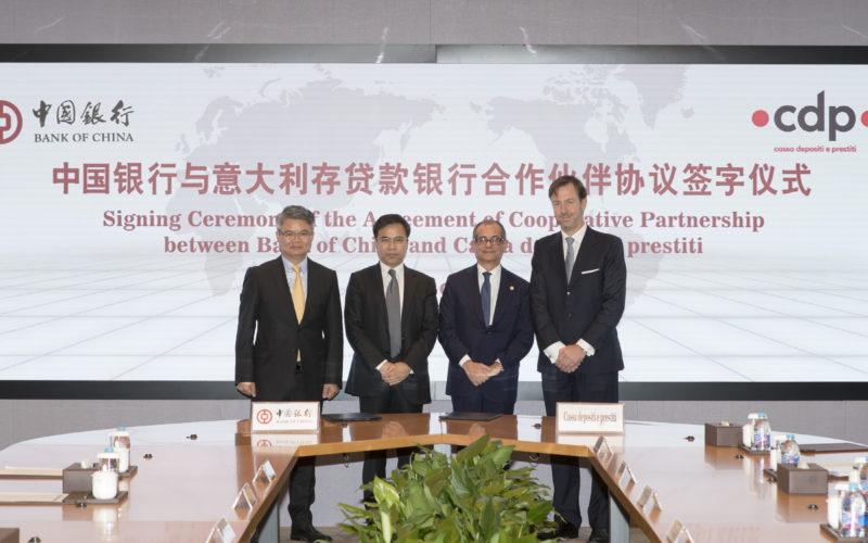 Bank of China e Cdp insieme per le Pmi italiane