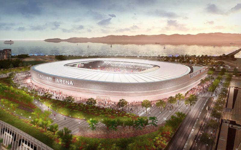 Cagliari: ecco come sarà il nuovo stadio