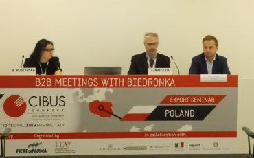 Biedronka incontra le aziende alimentari di Parma