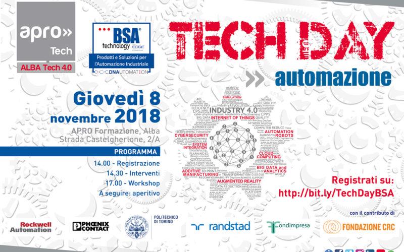 Tech Day: Alba inaugura l'Hub tecnologico per l'automazione
