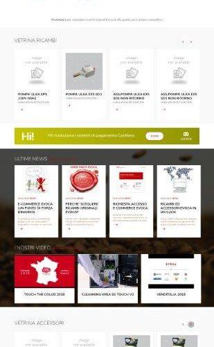 Evoca ha un nuovo portale e-commerce