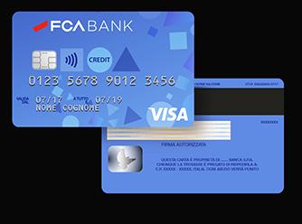 Fca Bank cambia passo con la sua carta di credito online