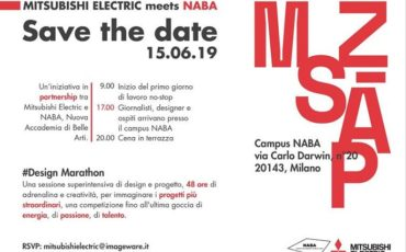 La Design Marathon di Mitsubishi Electric e NABA