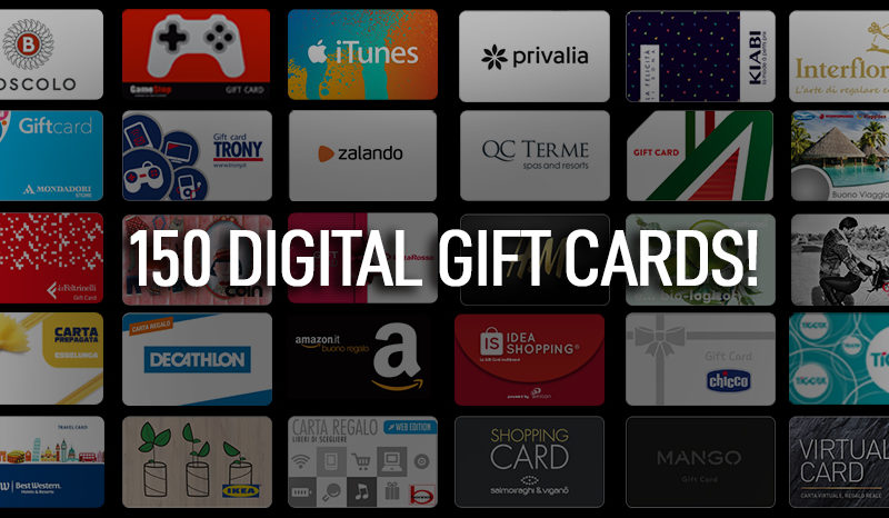 Gift Card E-commerce Amilon diventa internazionale