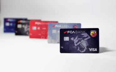 Fca Bank lancia 5 carte di credito