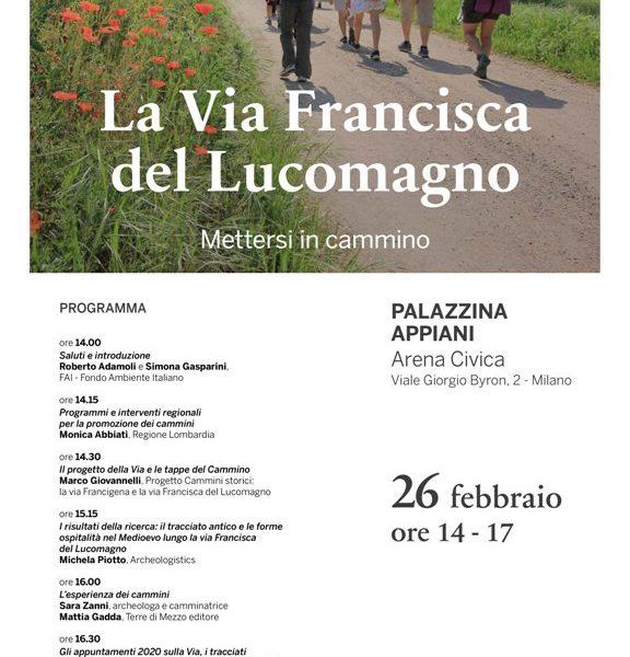 La Via Francisca del Lucomagno fa tappa a Milano