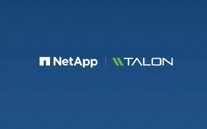 NetApp ha ac quisito Talon Storage