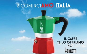 #ricominciAMOitalia con Bialetti