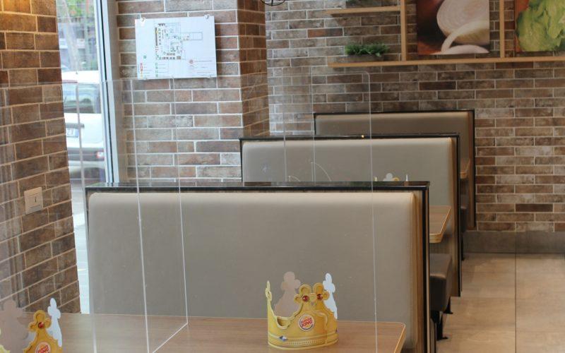 Burger King riapre i punti vendita in sicurezza