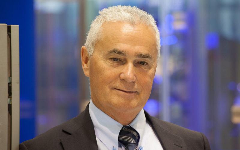 Jörg Pieper, ceo di Romaco Group saluta Paolo Naldi