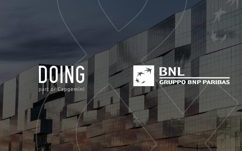 DOING gestisce i social e il digital di BNL BNP Paribas