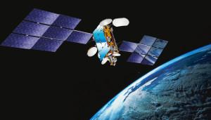 satellite in orbita
