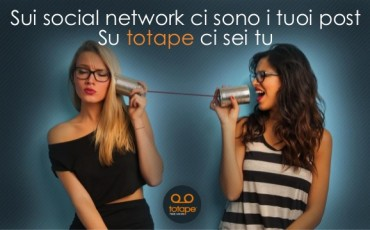 Totape primo social network vocale
