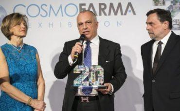 MioID di HelpCodeLife della svizzera SalusBank System vince l'innovation&research Award di Cosmofarma