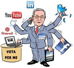 Elezioni: qual è il candidato più social? Parisi