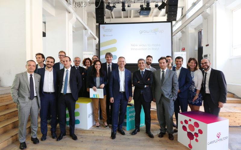 GrowITup, l'innovazione con Fondazione Cariplo e Microsoft