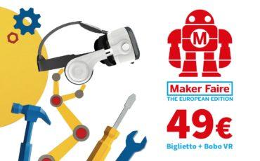 Un tuffo nel Maker Faire 3D experience il 16 ottobre a Roma