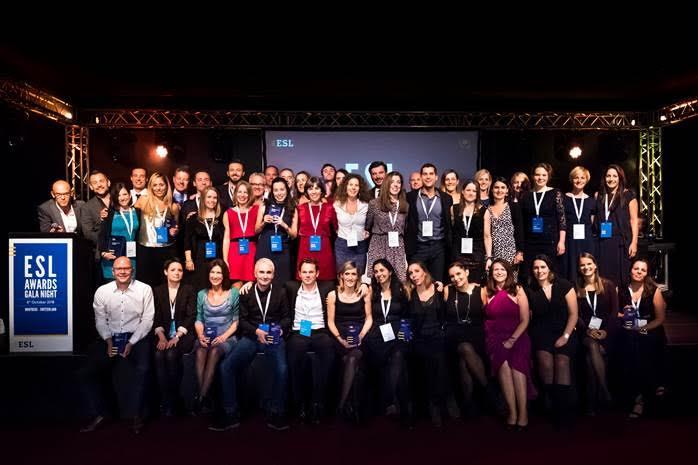 ESL ha premiato le migliori scuole di lingua