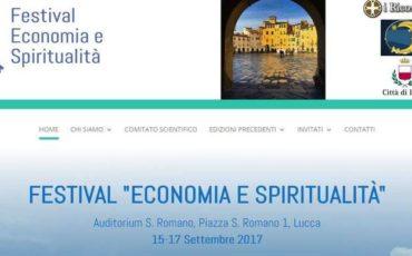 Economia e Spiritualità si incontrano a Lucca dal 15 al 17