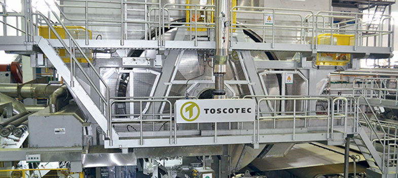Toscotec esporta macchinari per la carta tissue in Argentina