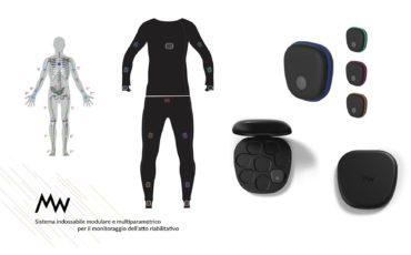 La tuta in 3D (Formlabs) che monitora la riabilitazione