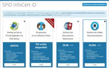 Spid professionale da InfoCert, Tinexta group