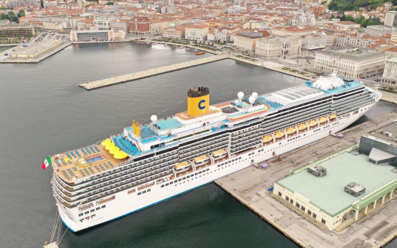 Ripartono da Trieste le crociere nel Mediterraneo