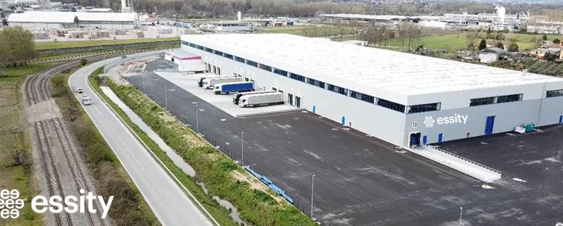 Essity si espande con un nuovo magazzino a Porcari (Lu)