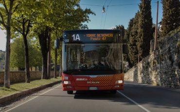 Sui bus ATB di Bergamo affollamento monitorato