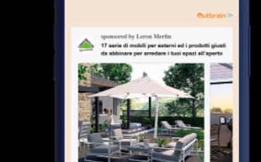 Outbrain supporta la campagna digitale di Leroy Merlin