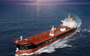 d'Amico International Shipping noleggia nave cisterna